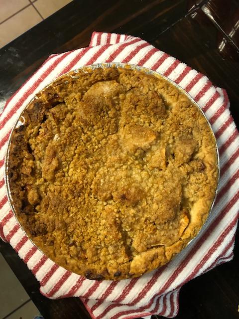 the best Dutch apple pie