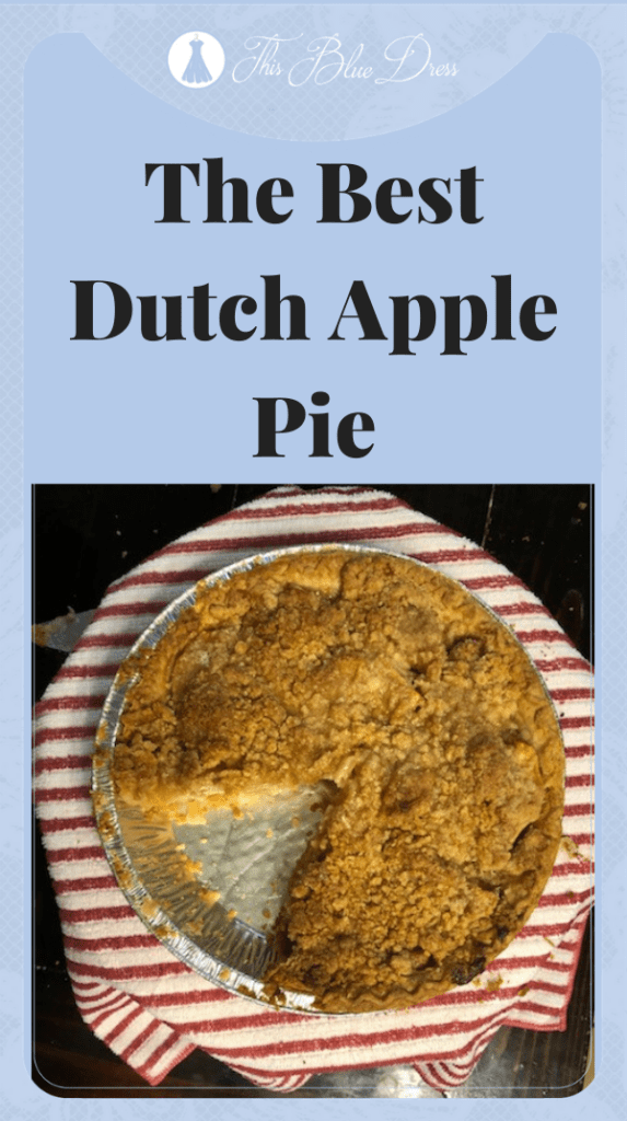 dutch apple pie pin