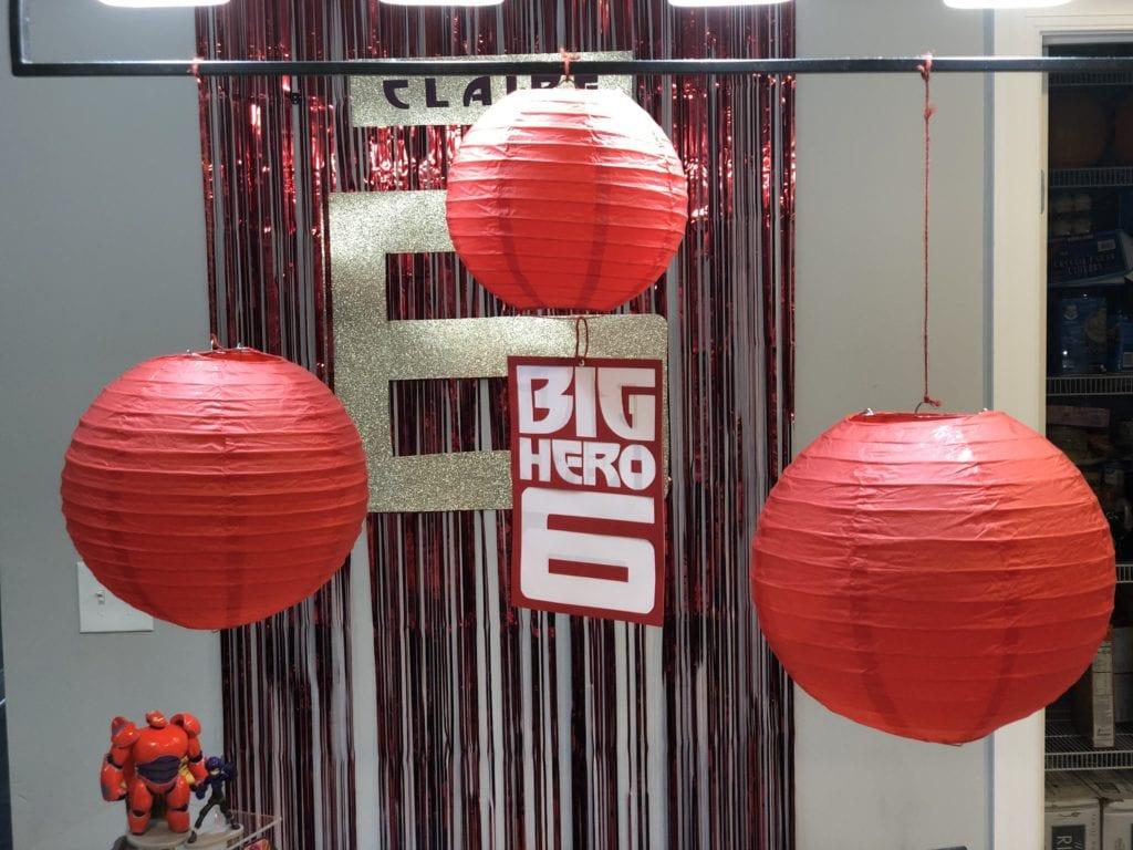 Big Hero 6 centerpiece