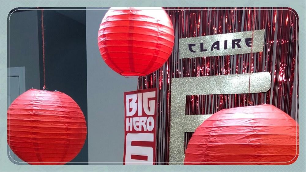 Big Hero 6 Birthday Party Ideas