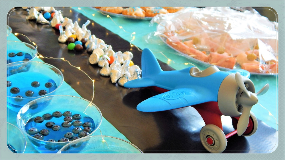 Airplane-Themed Baby Shower Ideas