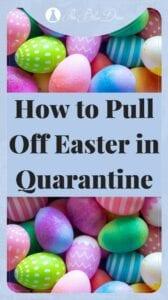 Easter in Quarantine pin