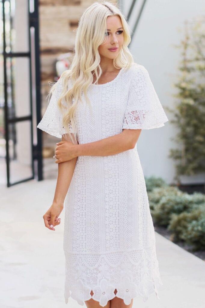 Boho spring dress