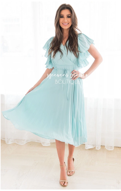 Neesees is one of our favorite sites for modest dresses!
