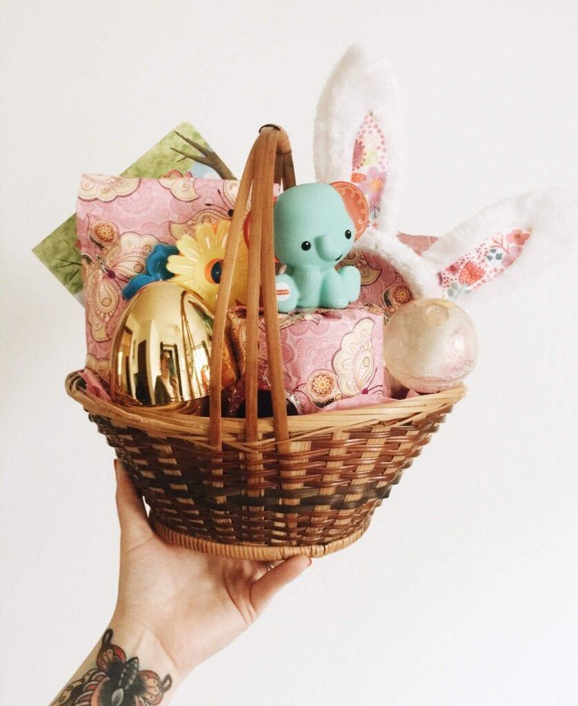 Quarantine Easter baskets