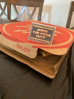 Jabba the Pizza Hut Star Wars Party Food