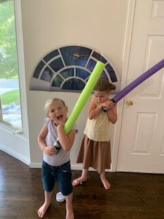 Star Wars Pool Noodle Lightsabers