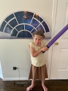 Star Wars Purple Pool Noodle Lightsaber