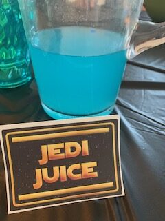 Jedi Juice Star Wars Party Food