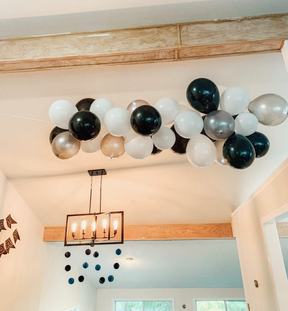 Star Wars Party Balloon Arch