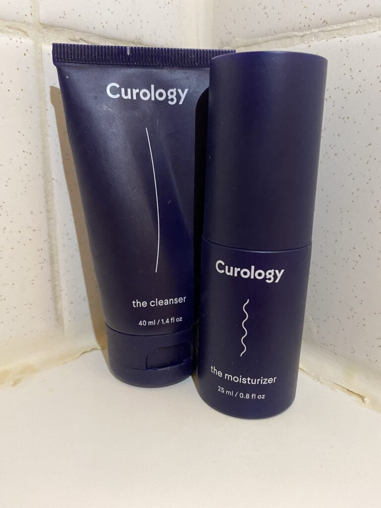 Curology cleanser and moisturizer for Curology review