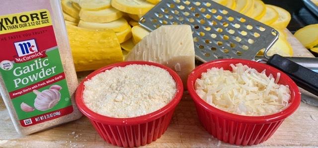 Yellow Squash Rounds Ingredients