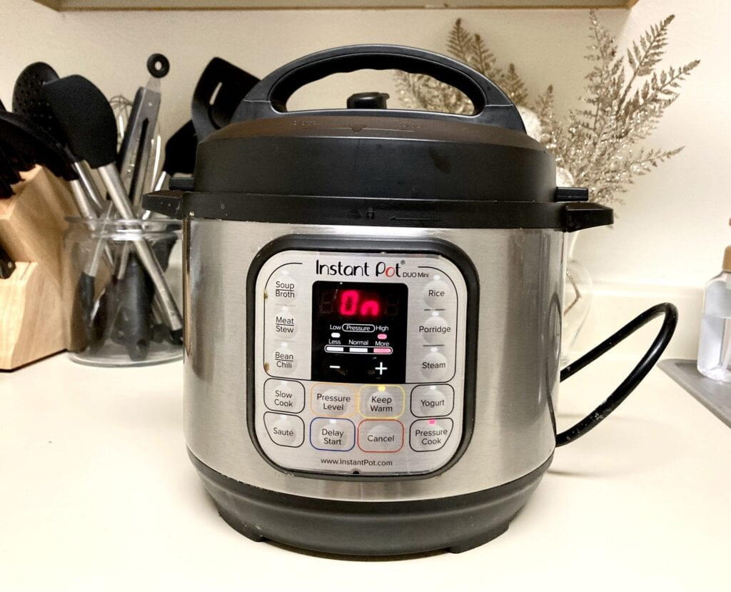 Instant Pot Duo Mini on counter