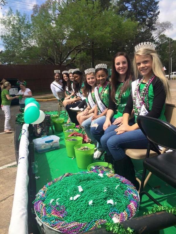 Regency Titleholders at St. Patrick's Day Parade 2016