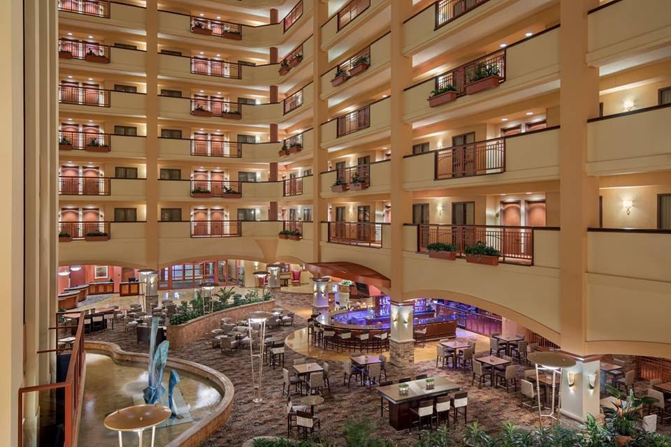 Embassy Suites Conference Center and Spa.