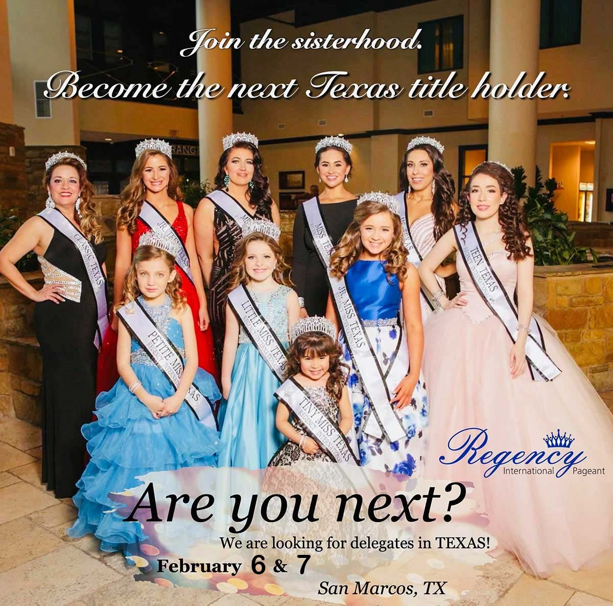 South United States - Regency International Pageants