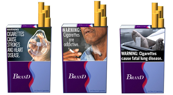 Graphic Warning Labels to be on Cigarette Packaging