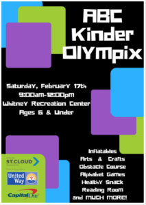 ABC Kinder Olympix This Saturday