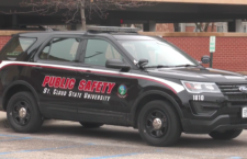 St. Cloud State Public Safety vehicle.