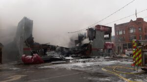 St. Cloud's Press Bar and Parlor a Complete Loss After Fire