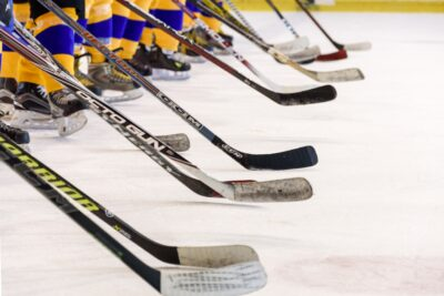 High school hockey heats up