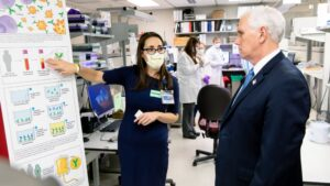 Vice President Mike Pence visits Mayo Clinic in Rochester, MN