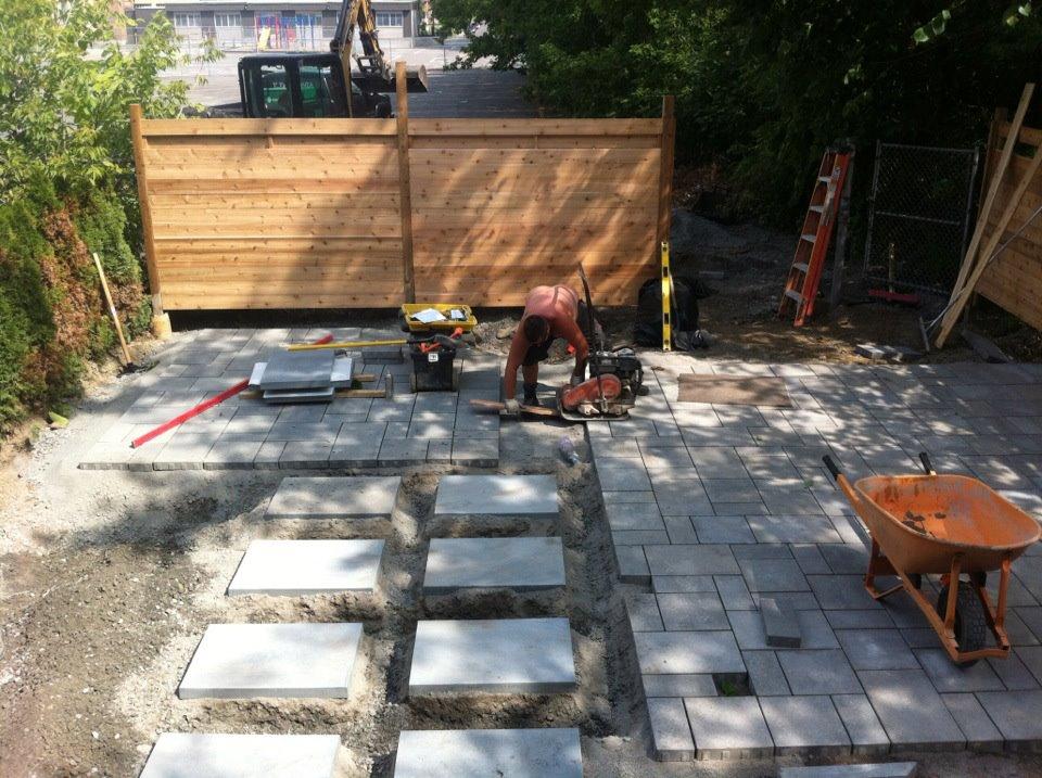 perspective paysage réalisation de projet clé en main à Montréal