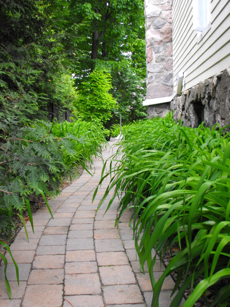 Permacon sentier jardins zen