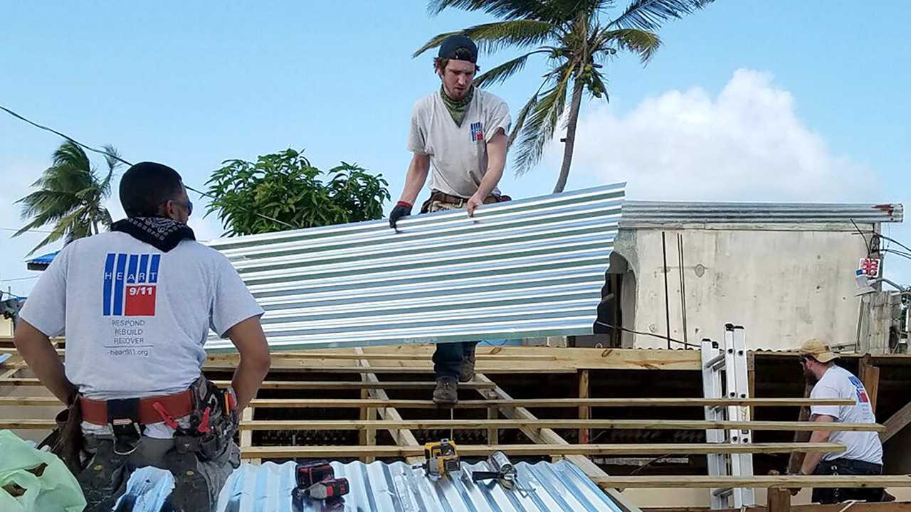 The Bigger Picture Helps Build a Brighter Future with 100Roofs