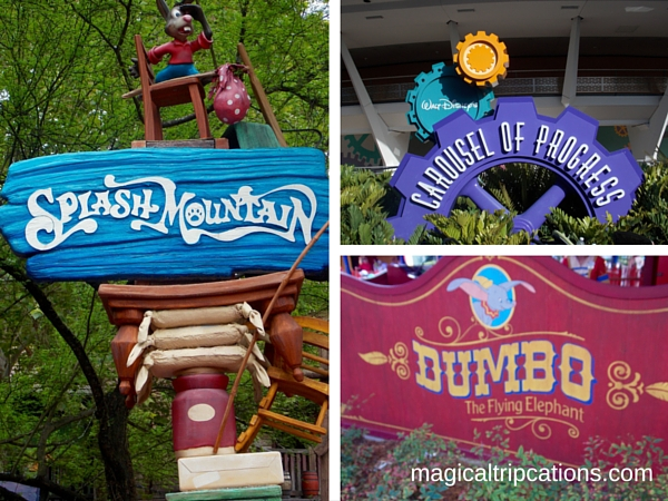 Disney Speak Attractions