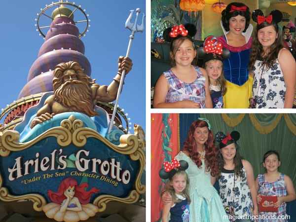 Top 6 things we love about Disneyland, unique character dining