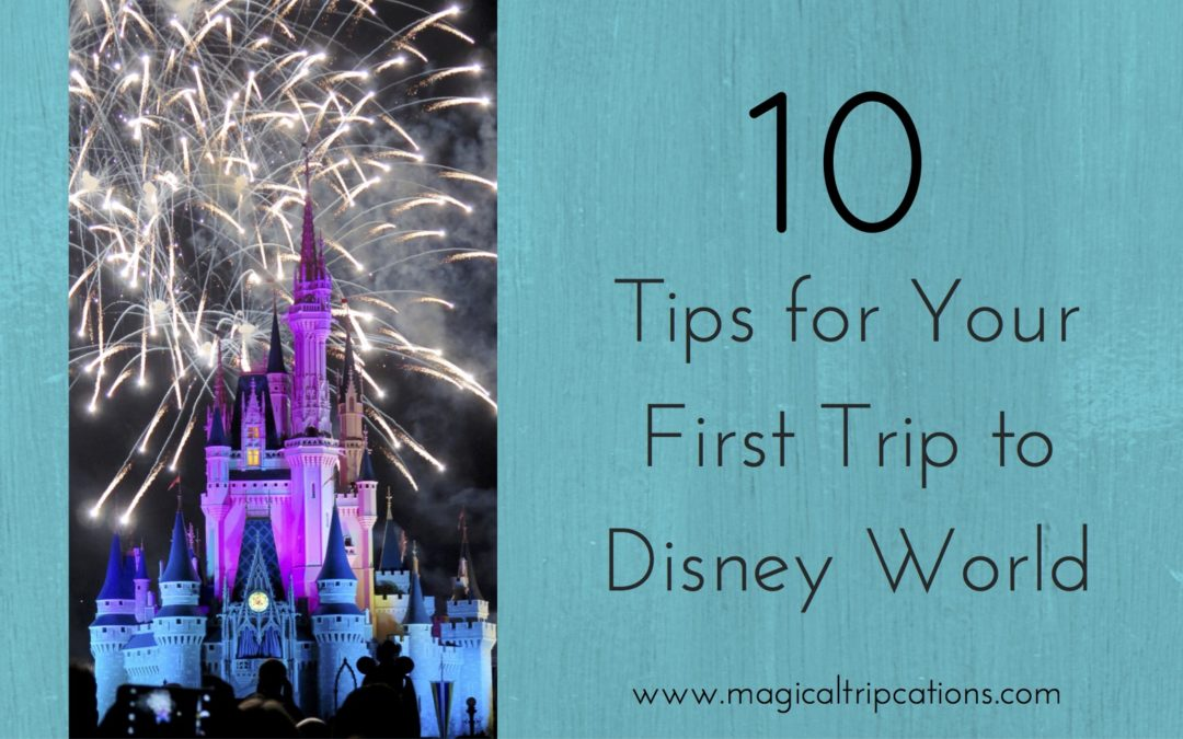 10 Tips For Your First Trip to Disney World