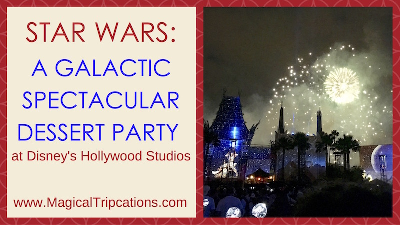 Star Wars: A Galactic Spectacular Dessert Party