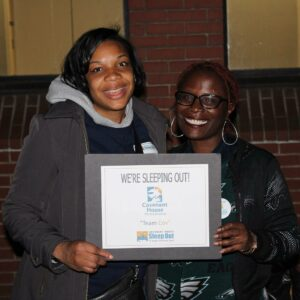 Participants of Covenant House's annual SleepOut campaign.