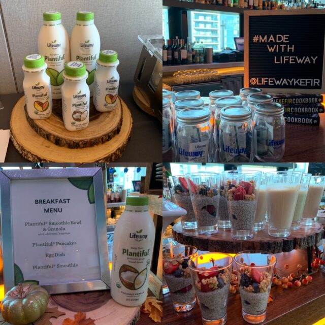 Lifeway plant-based probiotic drink launch event