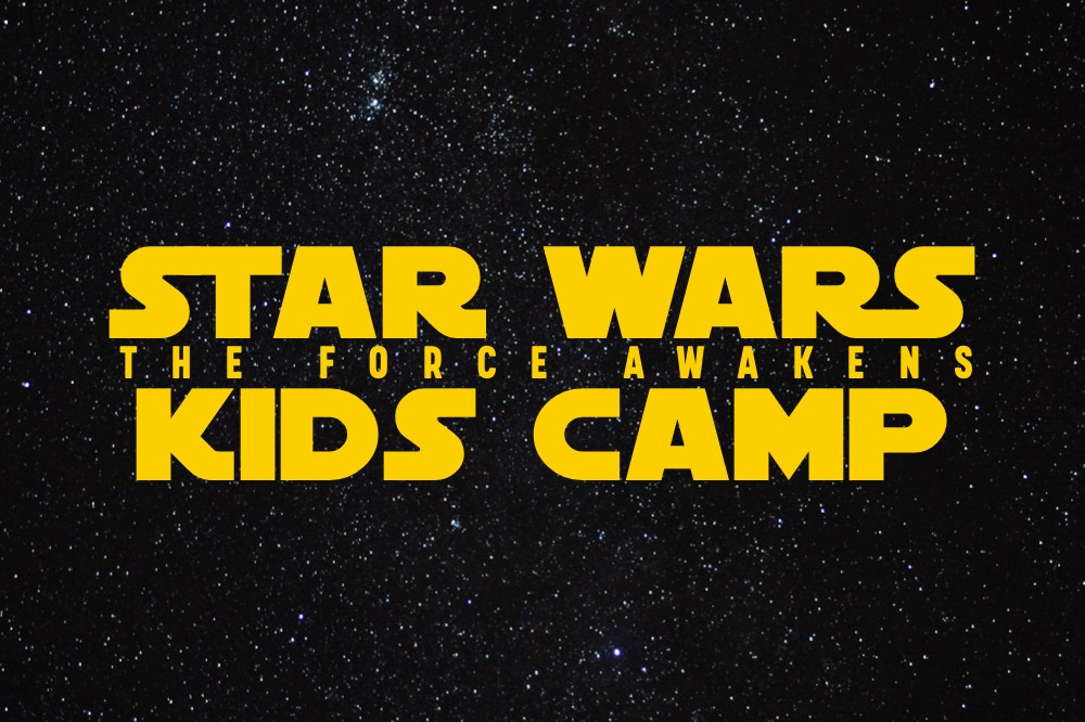 the force awakens summer camp