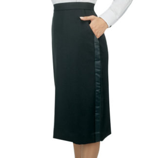 women's knee length tuxedo skirt,below the knee tuxedo skirt
