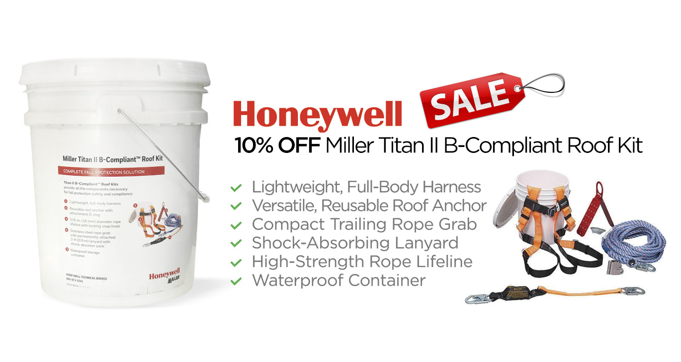 Honeywell 3M Roofing Kit