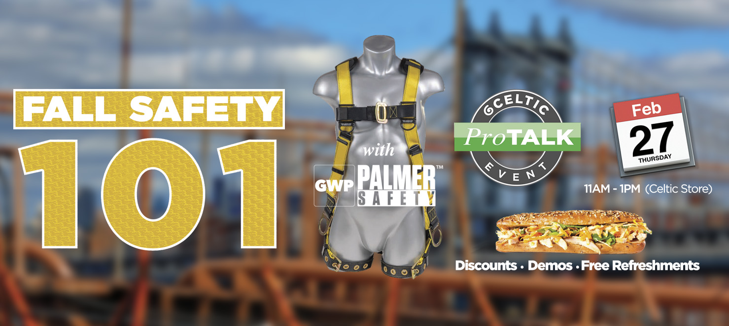 Fall Protection at Celtic Building Supplies