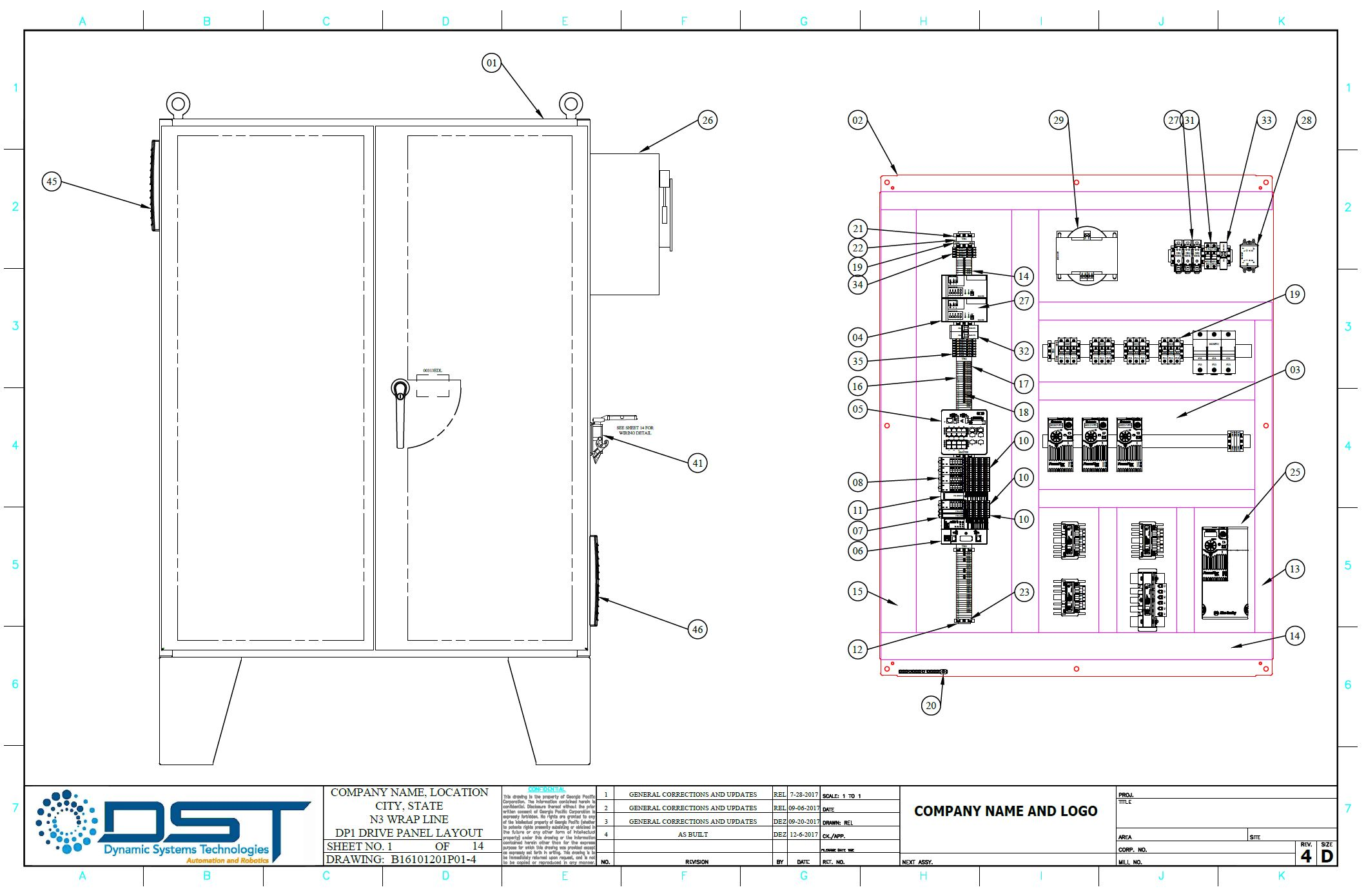 Panel Layout Photo