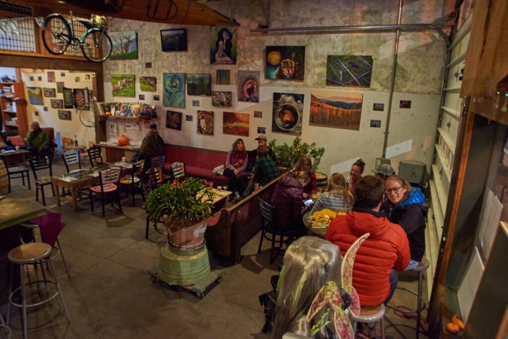Dustin Tidwell's Art Opening @ Woods High Mountain Distillery