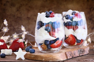 Red, White, and Blue Popsicles