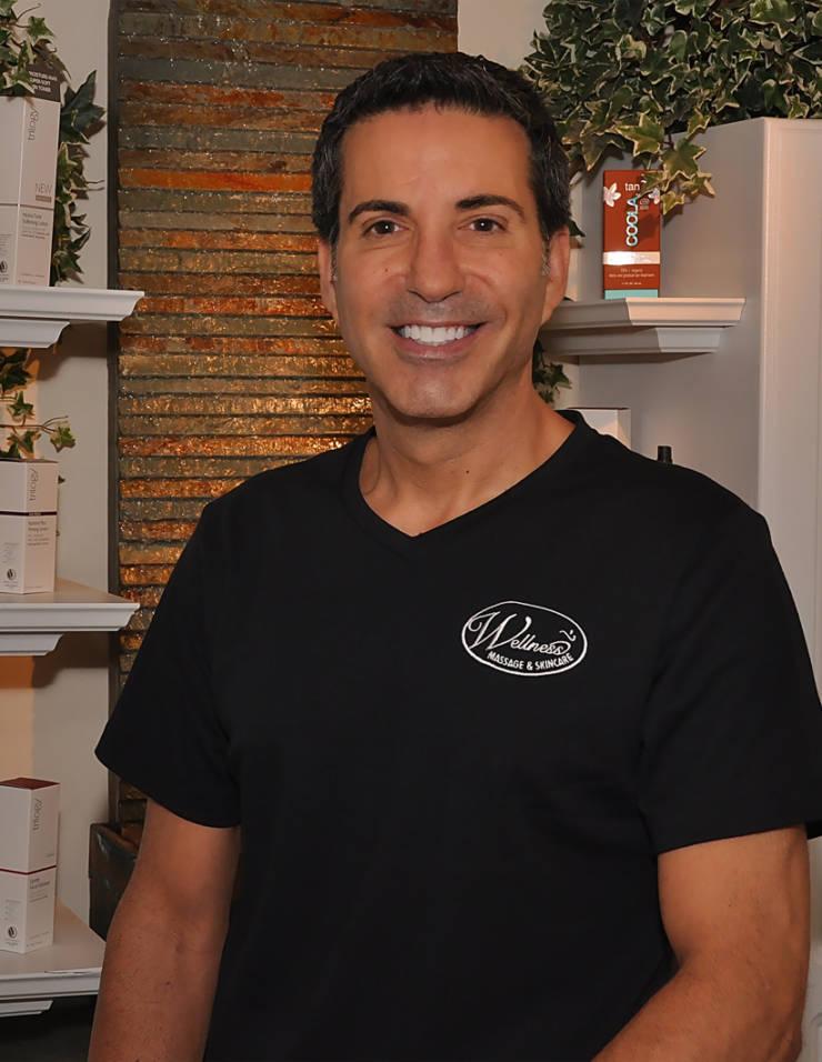 owner of Wellness Massage in Newton Centre Todd Billig