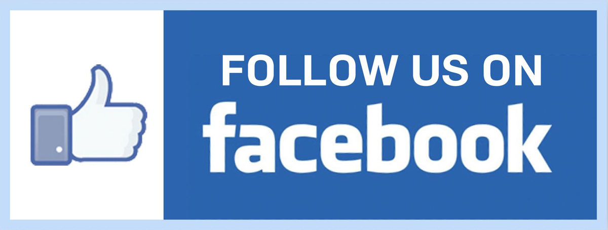 follow us on facebook, special offers