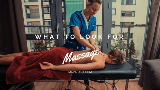 look for in a massage therapist Eureka
