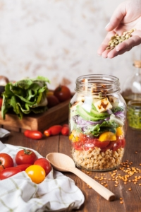 Make nutrition a priority eating lots fruits and vegetables