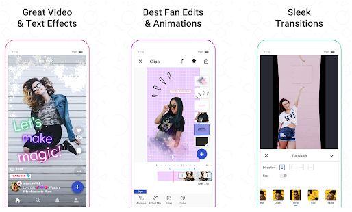 Edit Videos on Funimate App