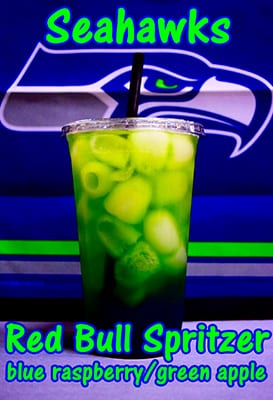 Seahawks Red Bull Spritzer
