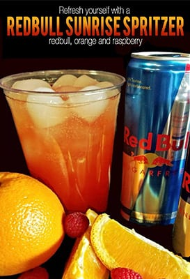 Red Bull Sunrise Spritzer