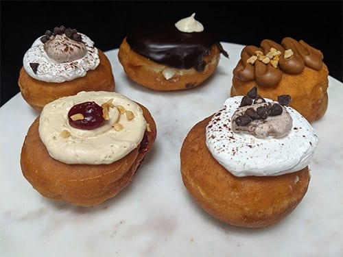 Filled Doughnut Balls